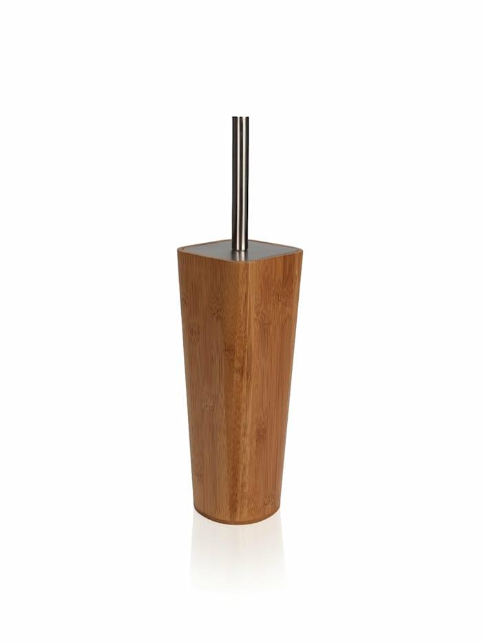 Möve Toilettenbürste BAMBOO SQUARE 10x10x38cm , Bambusholz, wood/stainless steel