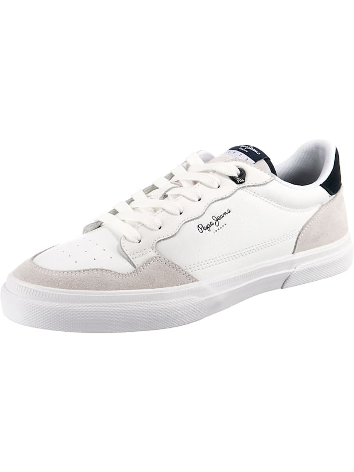 Pepe Jeans Kenton Original 73 Sneakers Low, weiß