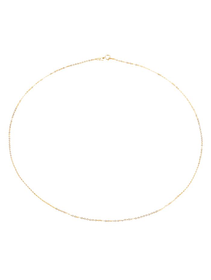 Ankerkette in Gelbgold