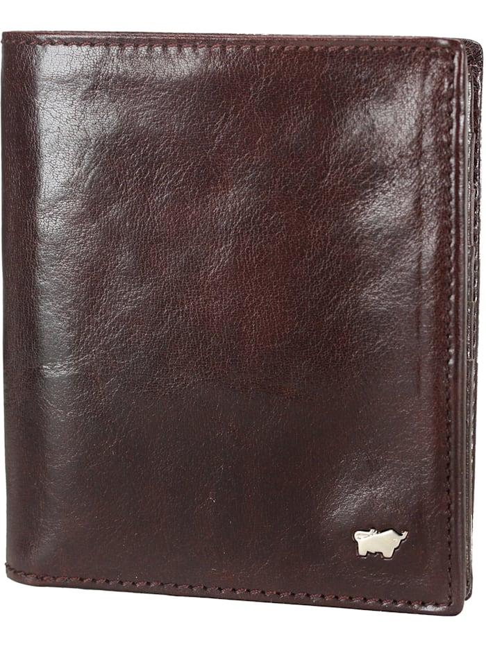 Braun Büffel Country Geldbörse Leder 10,5 cm, palisandro