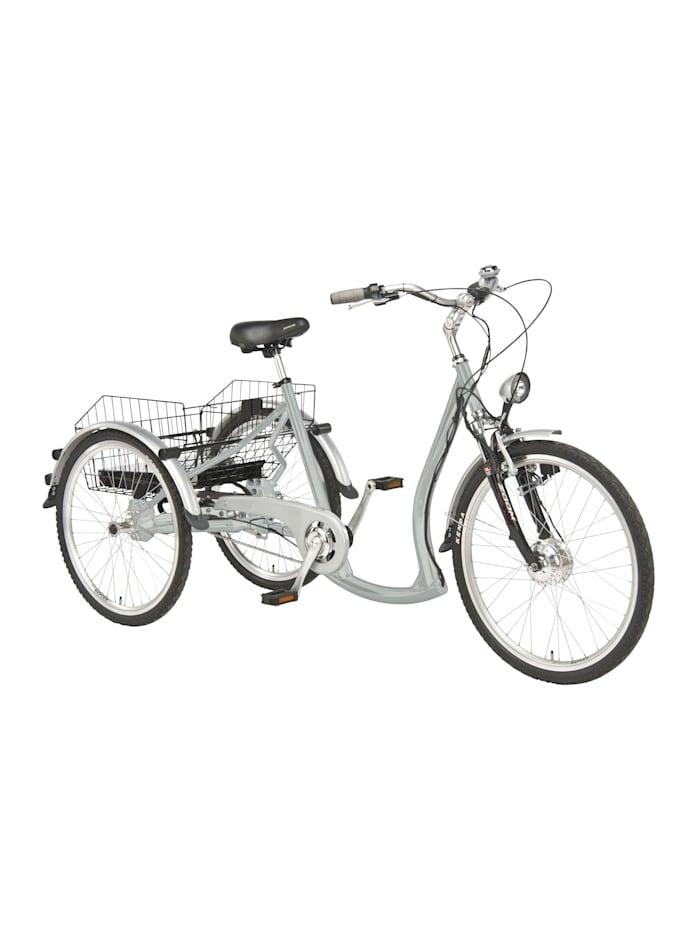 "Wild Eagle Dreirad Elektro 26/24"" made in GERMANY silber, Silber"