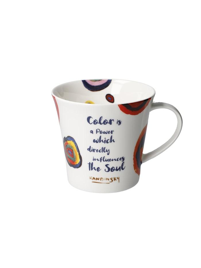 Goebel Goebel Coffee-/Tea Mug Kandinsky - Color is a Power..., Bunt