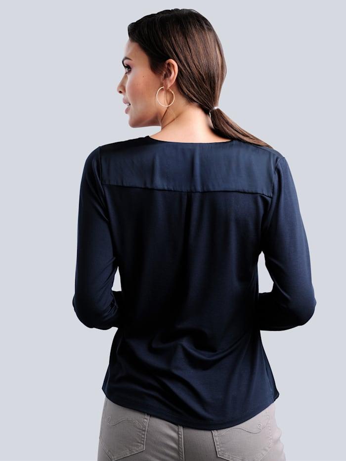 Shirt mit effektvollem Rüschenvolant