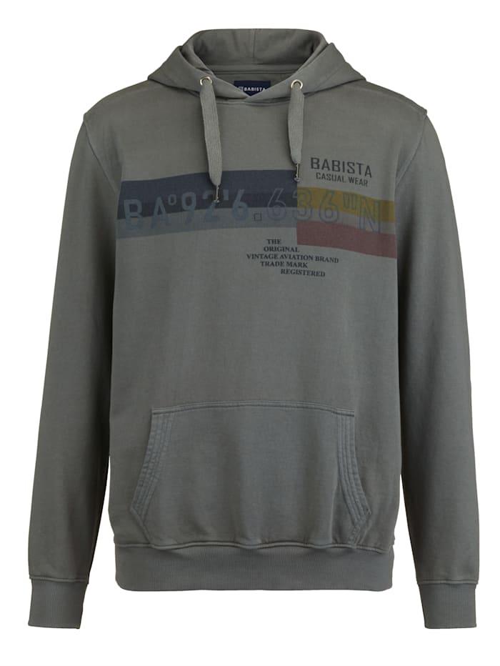 BABISTA Sweatshirt im Used-Look, Schilf