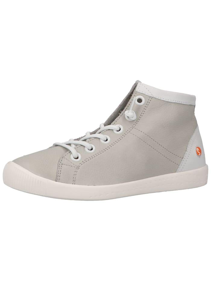 Softinos Softinos Sneaker, Hellgrau/Weiß