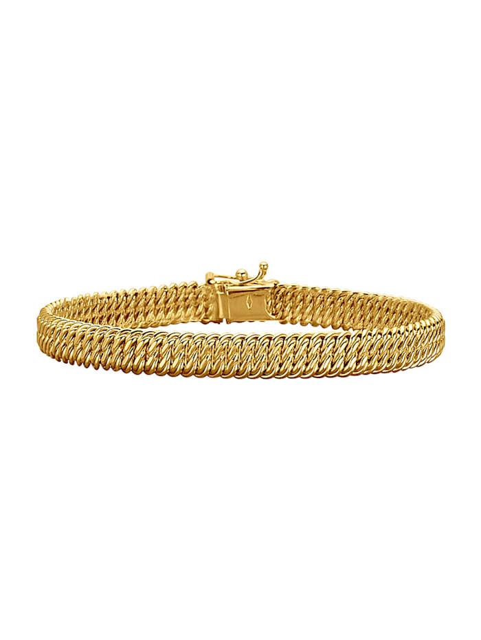 Amara Gold Armband, Gelbgoldfarben