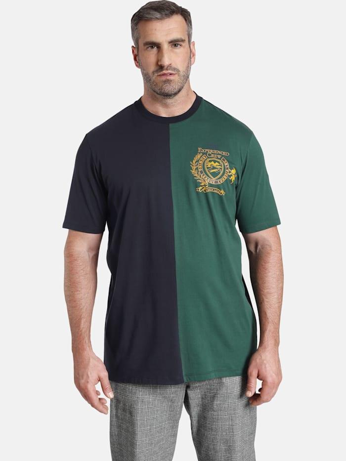 Charles Colby T-Shirt EARL VERNON, dunkelblau