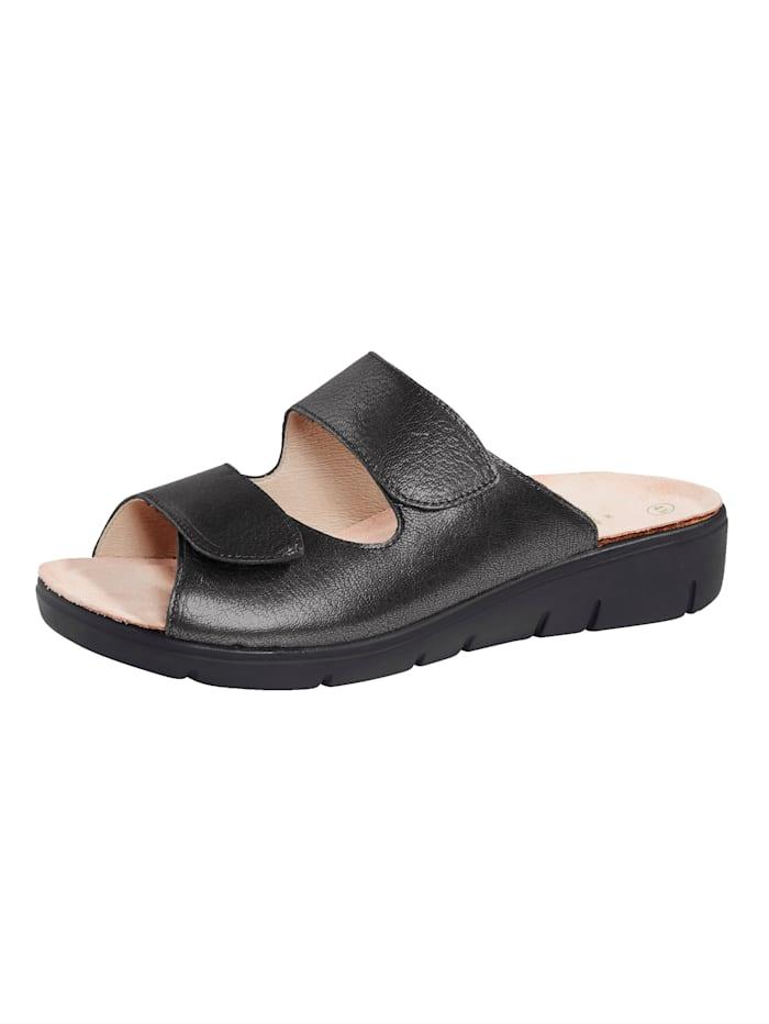 Solidus Nazouvací obuv s nastavitelným suchým zipem, Antracitová