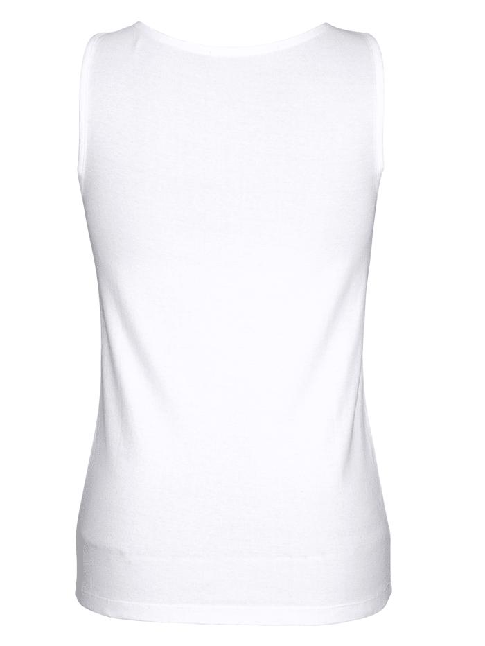 Hemdchen mit dekorativem Ausschnitt 2er Pack