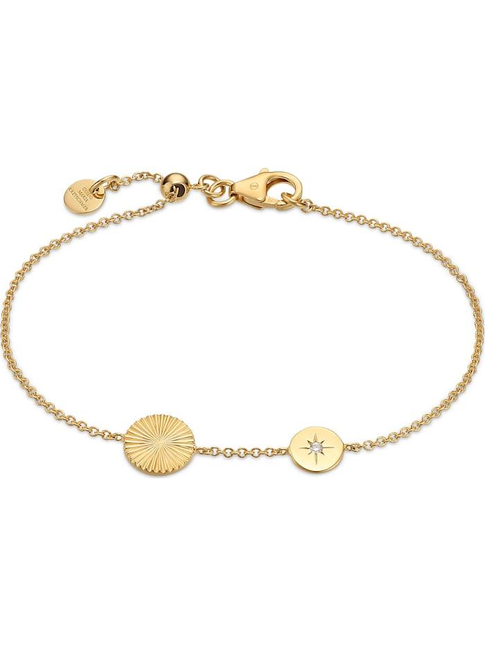 Guido Maria Kretschmer Guido Maria Kretschmer Damen-Armband Guido Maria Kretschmer 925er Silber 1 Diamant, gold