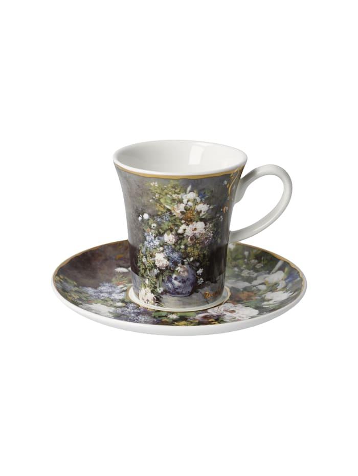 """Goebel Goebel Espressotasse Auguste Renoir - """"Frühlingsblumen"""", Renoir - Frühlingsblumen"""