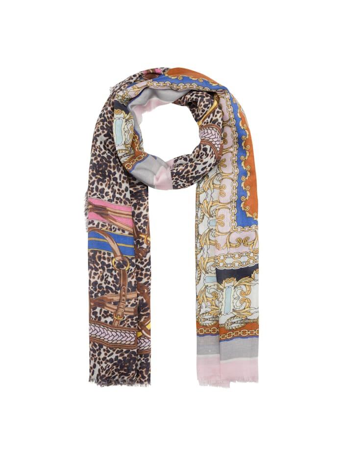 Codello Premium Schal aus Modal und Seide, grey