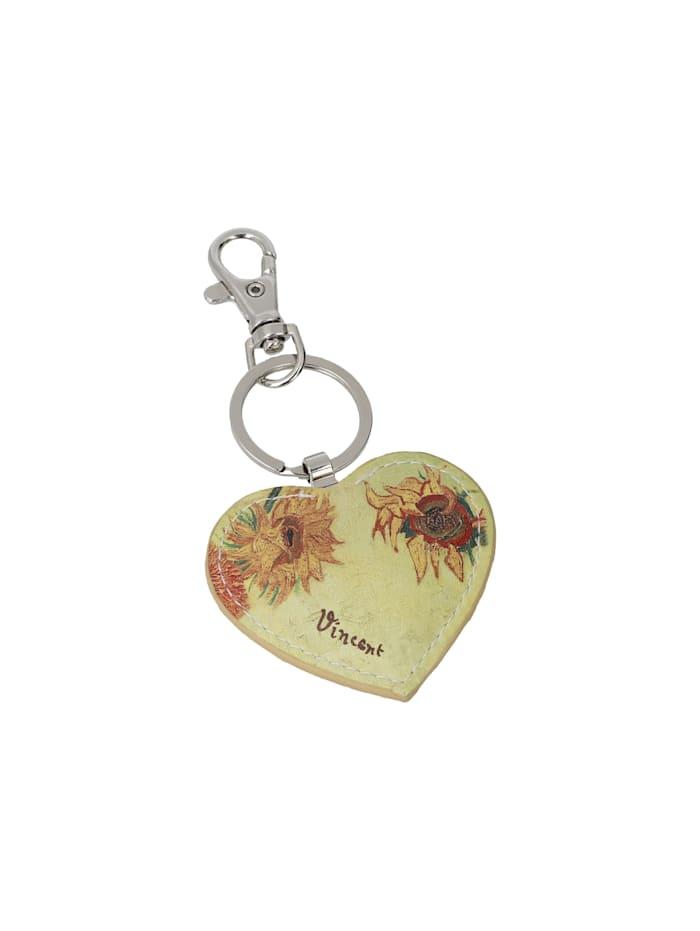 """Goebel Schlüsselanhänger Vincent van Gogh - """"Sonnenblumen"""""""