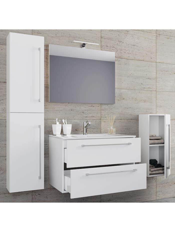 5.-tlg. Waschplatz Waschtisch Badinos Spiegel