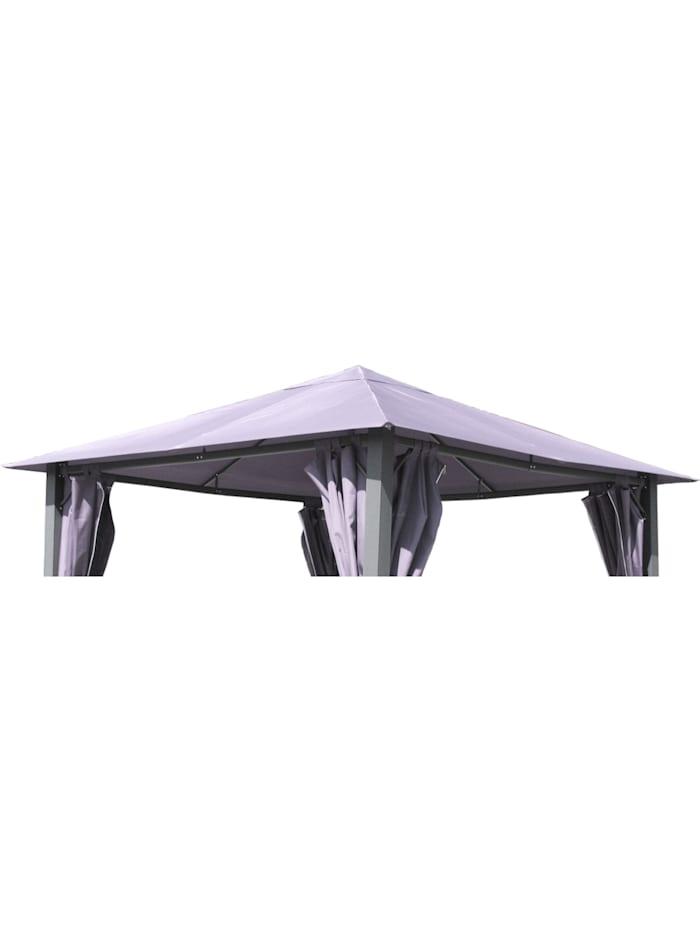 Grasekamp Ersatzdach zu Garten-Pavillon Paris 3x3m  Grau Gazebo Gartenzelt Partyzelt, Grau