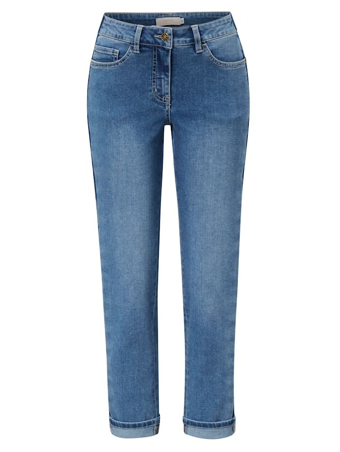 SIENNA Jeans mit Galonstreifen, Blau