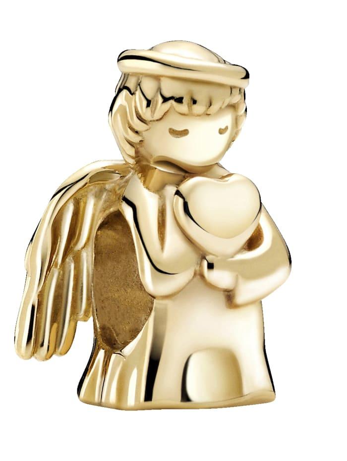 Pandora Charm -Engel der Liebe- 14K Gold 759143C00, Gelbgoldfarben