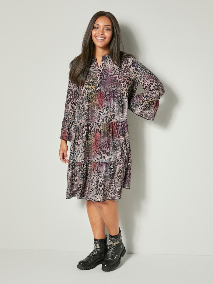 Kleid mit Animaldruck