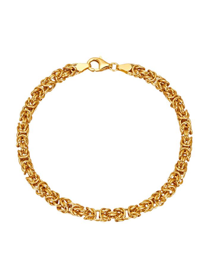 Diemer Gold Königskettenarmband, Gelbgoldfarben