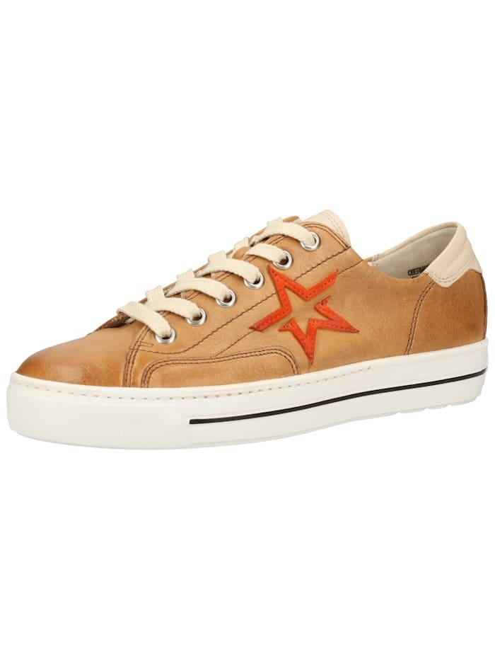 Paul Green Paul Green Sneaker, Braun/Beige