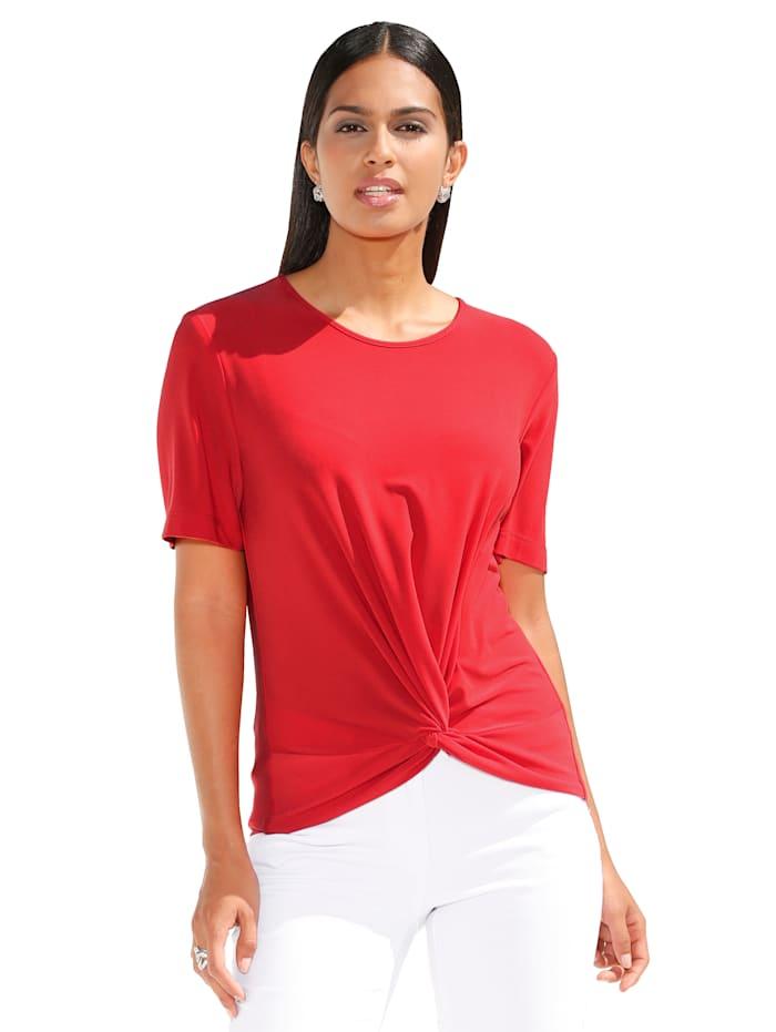 Shirt mit dekorativem Knotendetail