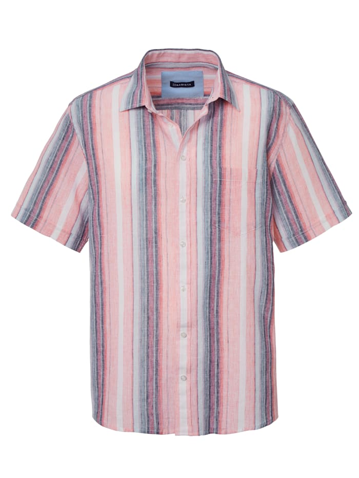BABISTA Overhemd van luchtig, zomers materiaal, Koraal