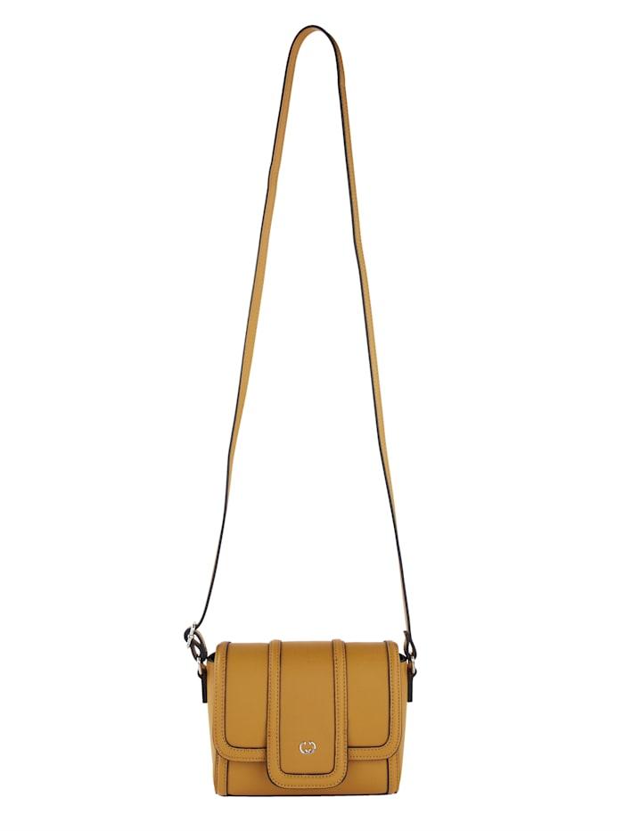 Gerry Weber Shoulder bag in a contemporary design, Mustard