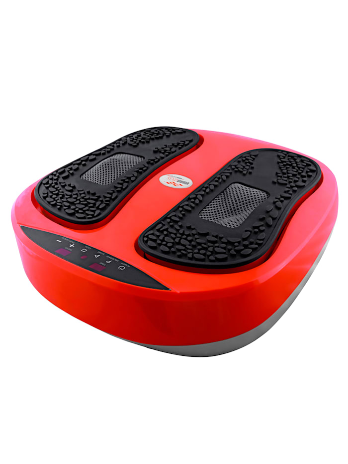 MediaShop Trainings- en massageapparaat VIBROLEGS', rood/zwart