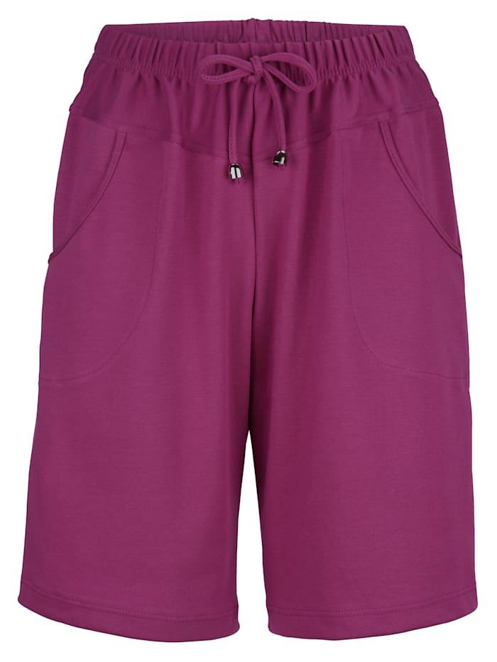 Maritim Shorts in knielanger Form, Fuchsia