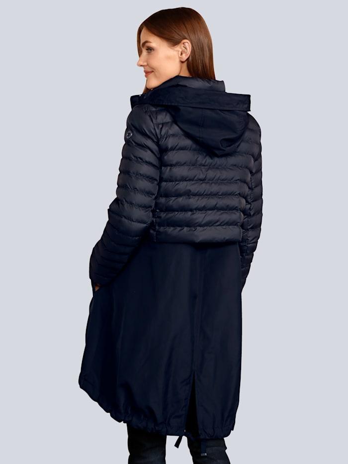Mantel in schöner Steppoptik