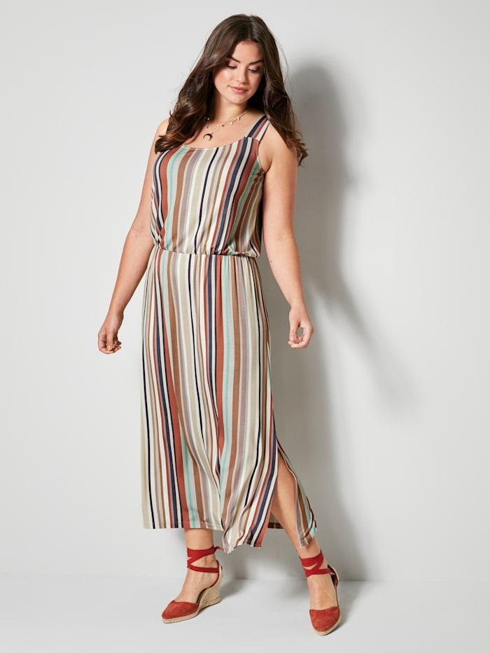Angel of Style Jerseykleid mit Streifendessin, Multicolor