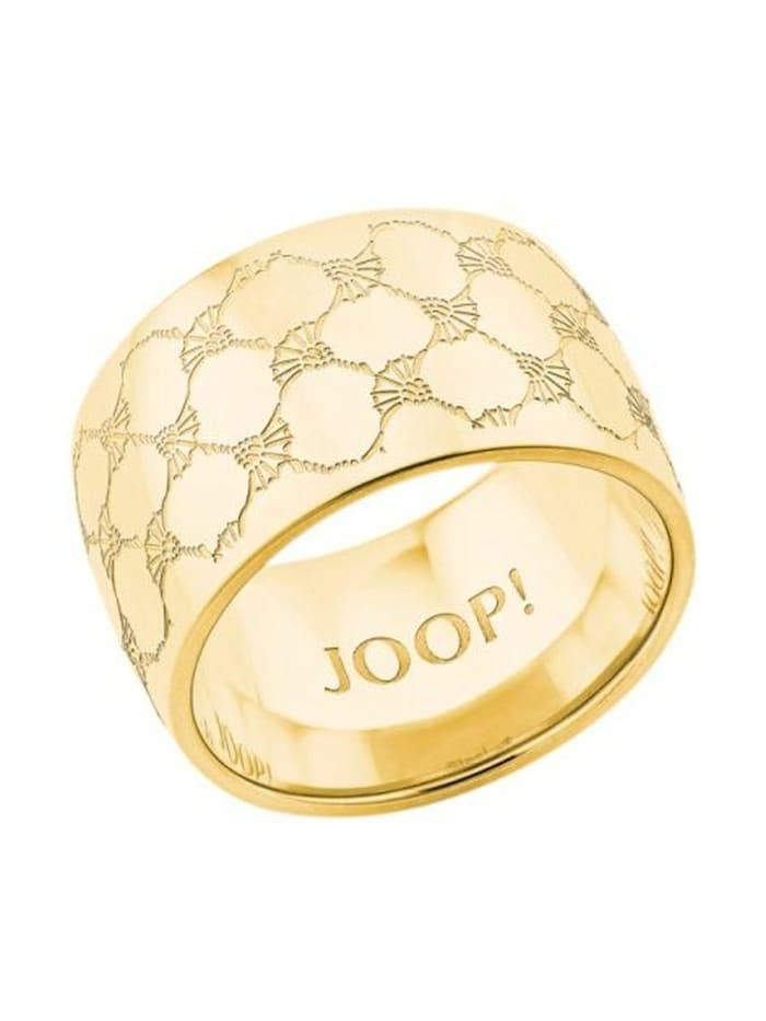 JOOP! Ring für Damen, Edelstahl, Gold