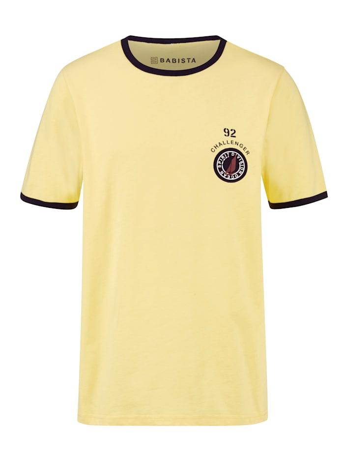 BABISTA Shirt van zuiver katoen, Geel