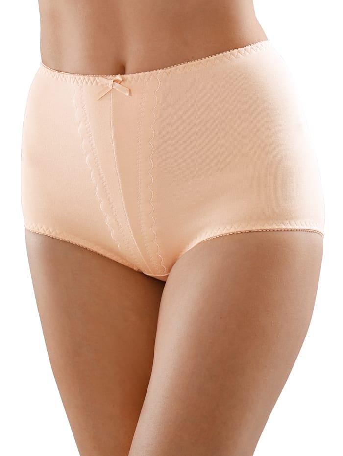 Sassa Moden Miederhosen im 2er Pack mit hohem Baumwoll Anteil, Nude