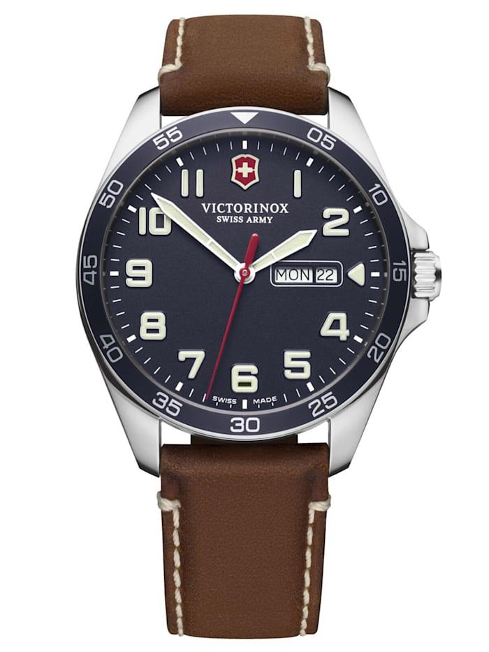 Victorinox Herren-Armbanduhr Fieldforce, Blau