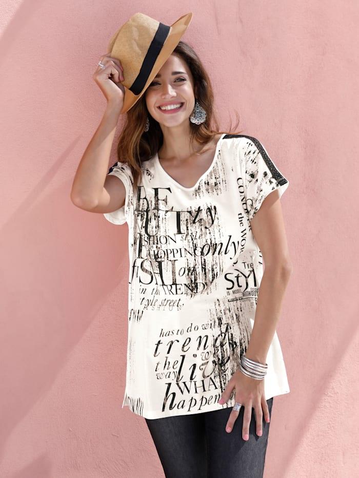 Shirt mit grafischem Schriftedruck