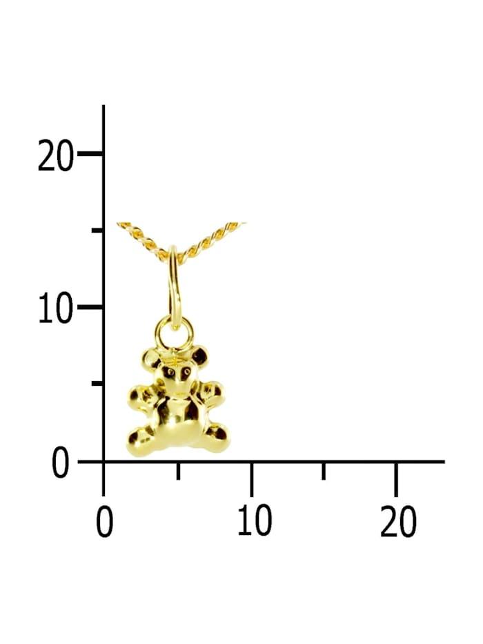 Kette mit Anhänger - Teddy - Gold 333/000 -