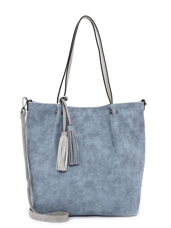 EMILY & NOAH EMILY & NOAH Shopper Bag in Bag Surprise, sky lightgrey 538