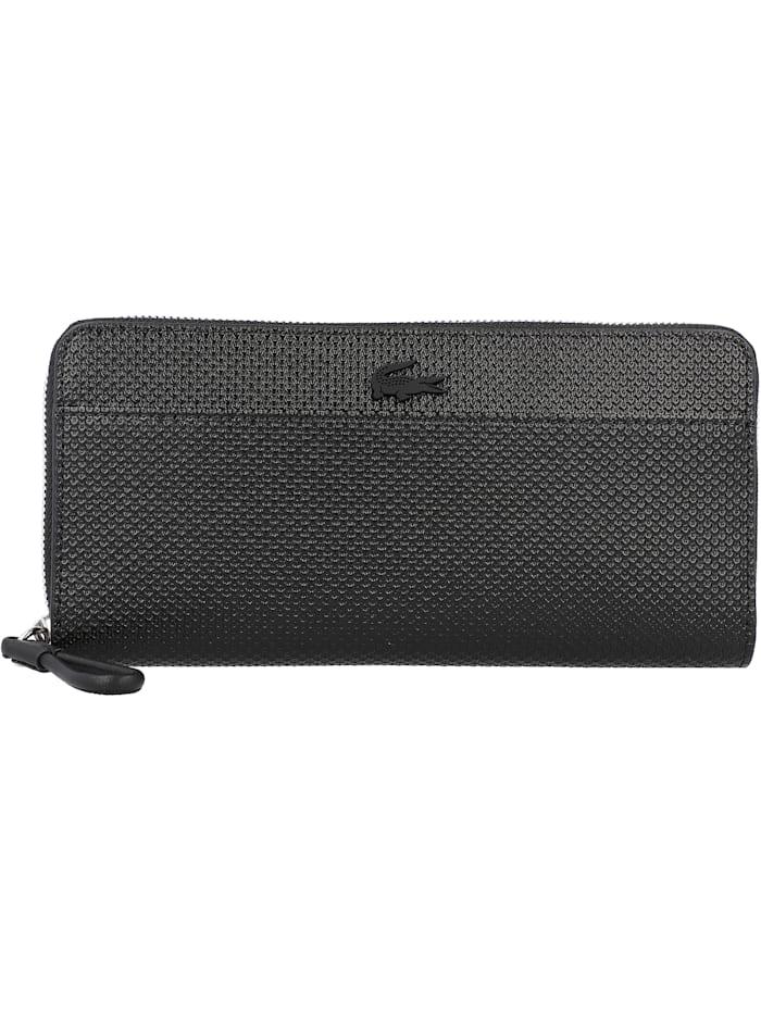 LACOSTE Chantaco Geldbörse Leder 20,5 cm, noir