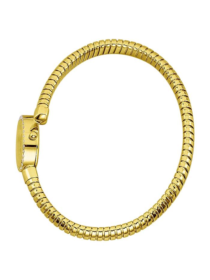 Montre femme en or jaune 585