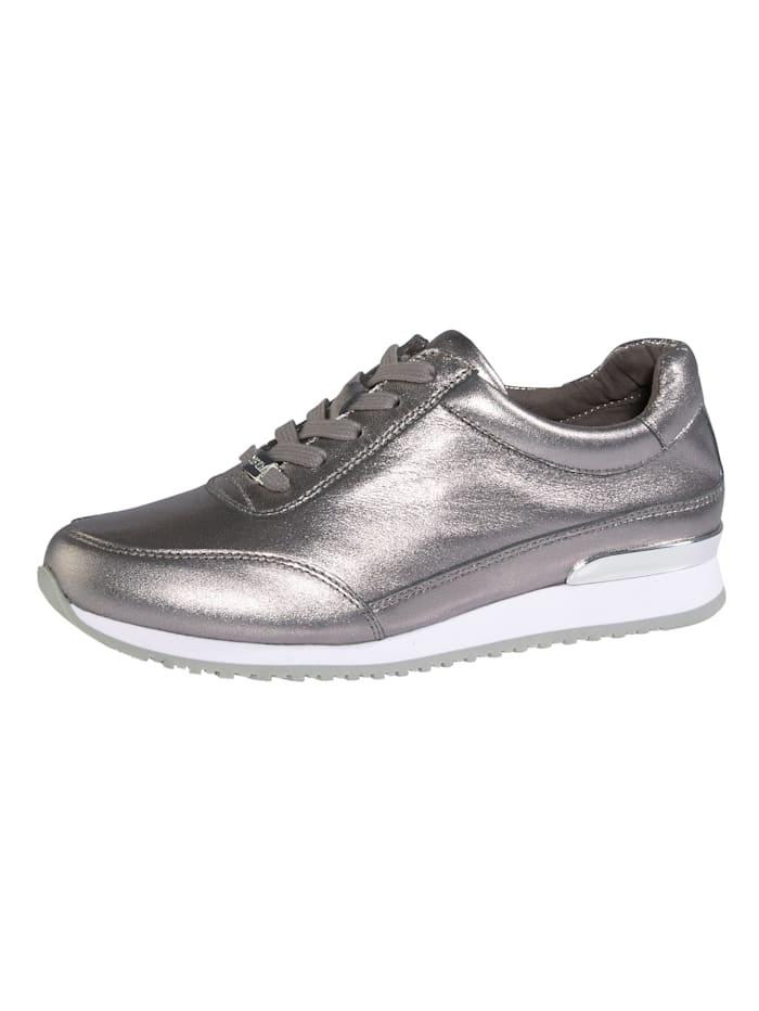 MONA Sneakers au superbe look, Coloris argent