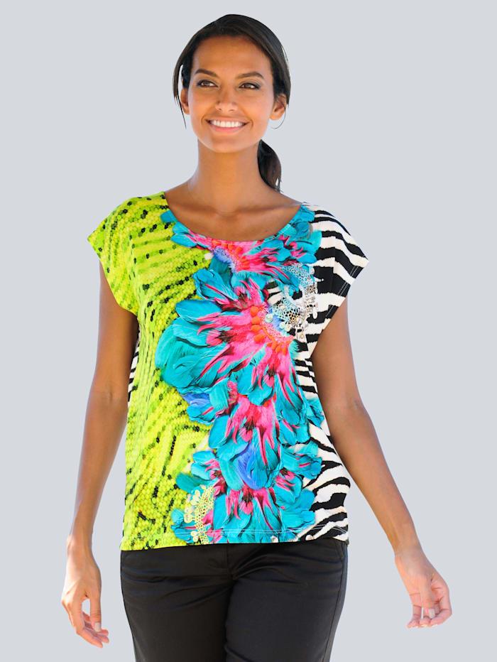 Strandshirt mit Animaldruck