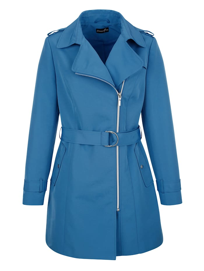 Dress In Jacke in klassischer Optik, Blau