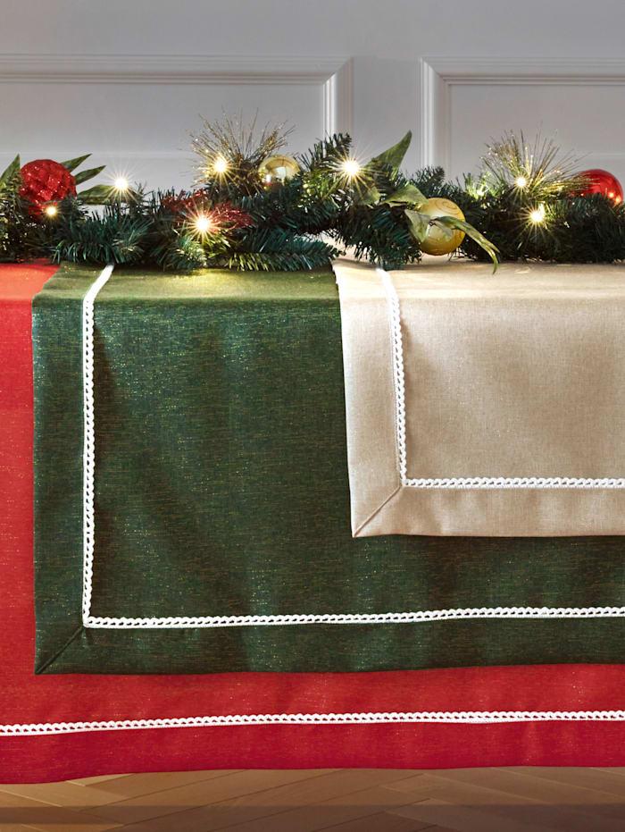 Webschatz Tischwäsche 'Esther', grün