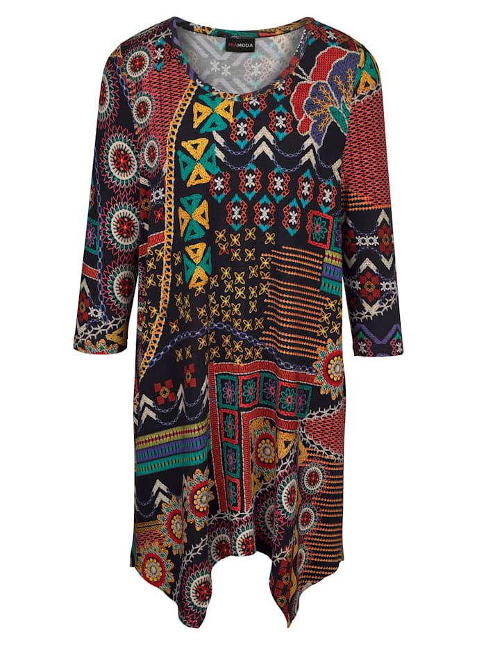 MIAMODA Overdel i flott fargekombinasjon, Multicolor