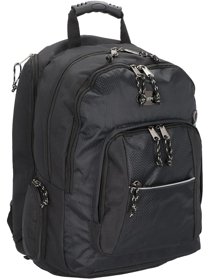 Lightpak Advantage Businessrucksack 48 cm Laptopfach, schwarz
