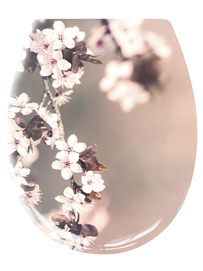 Kleine Wolke WC-Sitz 'Blossom', mehrfarbig