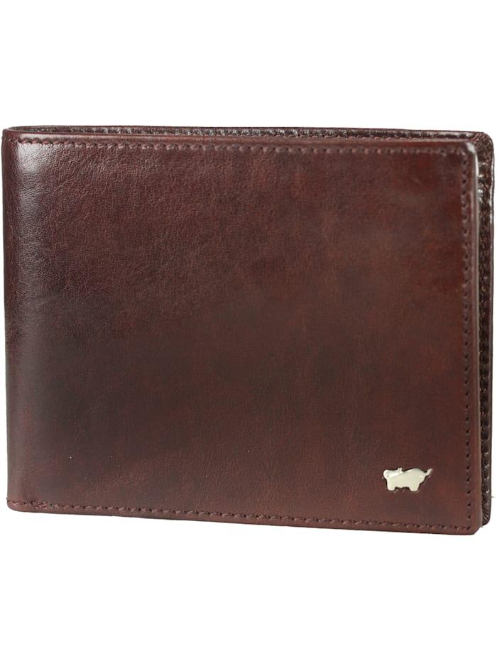 Braun Büffel Basic Geldbörse XI Leder 12,5 cm, cognac