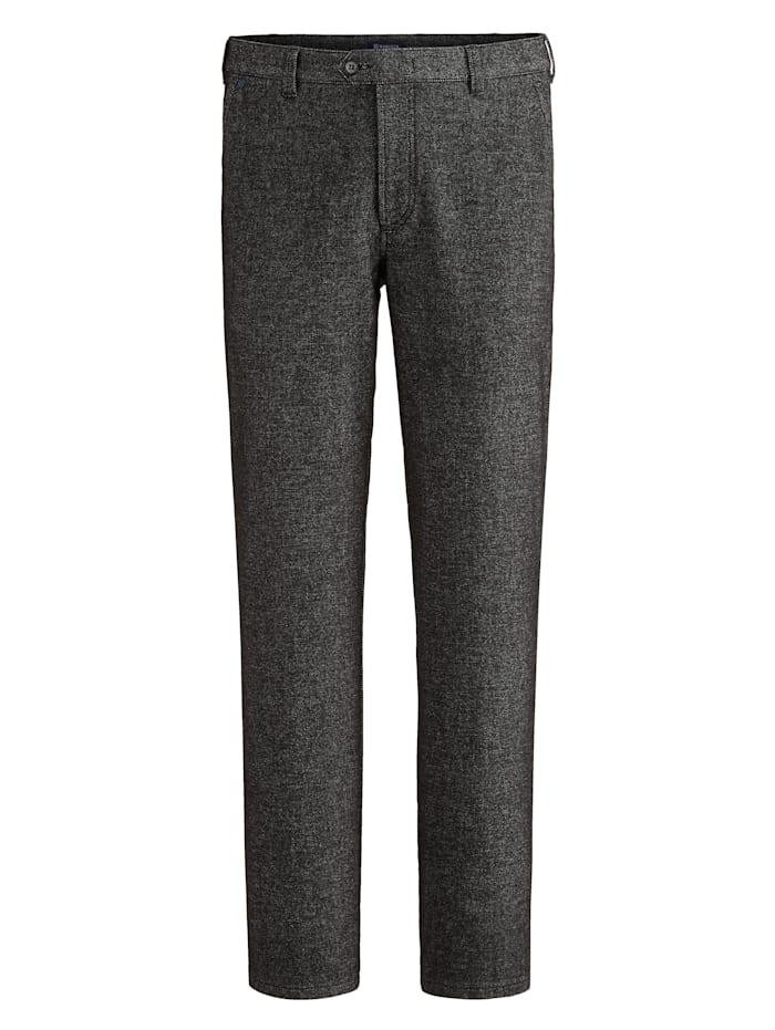 BABISTA Pantalon d'aspect laine, Noir