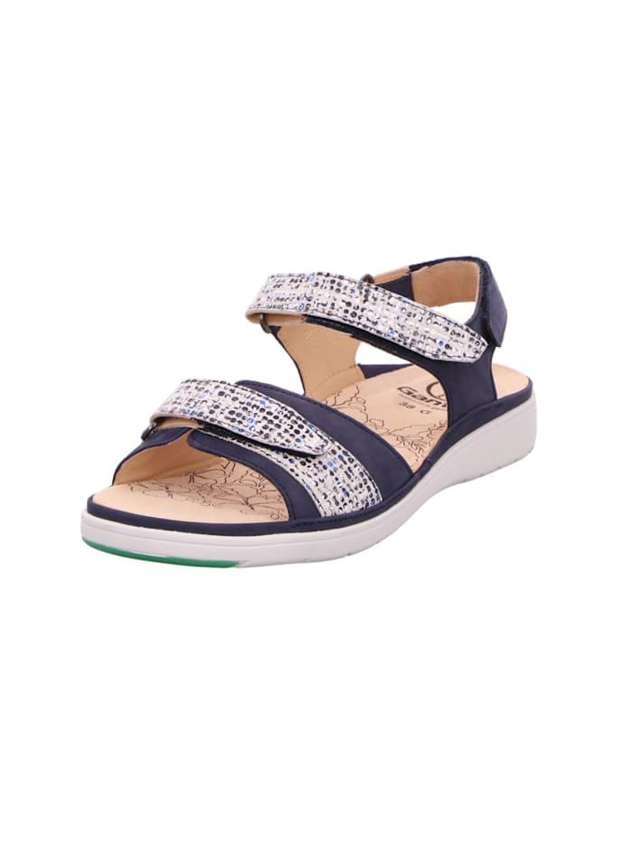 Ganter Sandalen/Sandaletten, blau